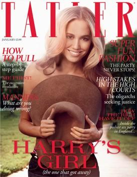 Tatler Magazine, January 2012