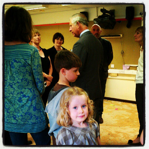 Prince Charles visit to Central Street School