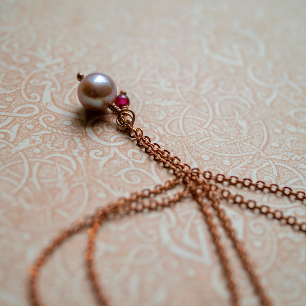 Pimpernel Necklace
