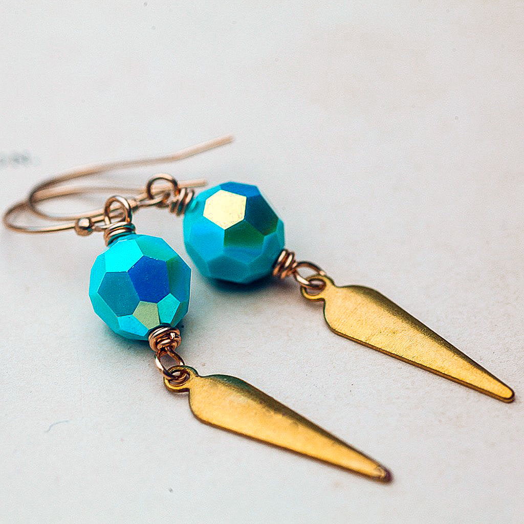 Aqua Vitae Earrings