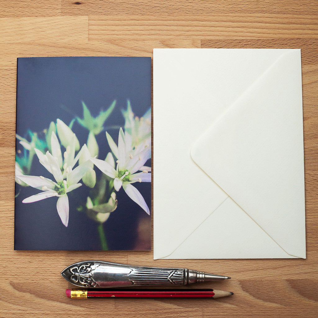 Art Card - Blank - Wild Garlic Greeting Card