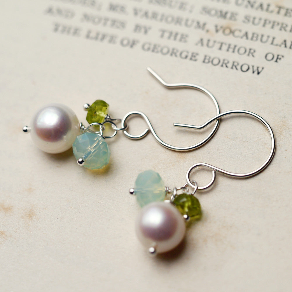 Earrings - Celadon Earrings