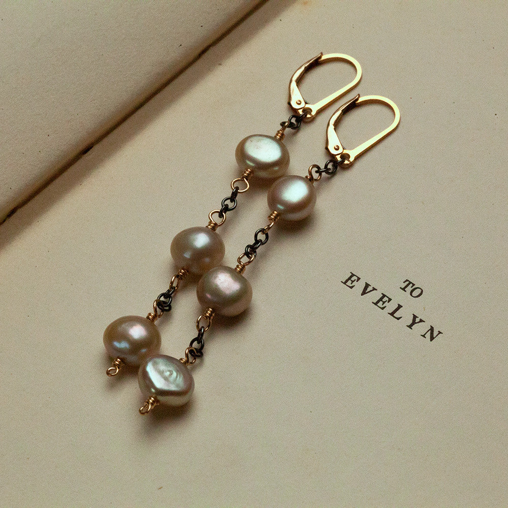 Earrings - Champagne Earrings