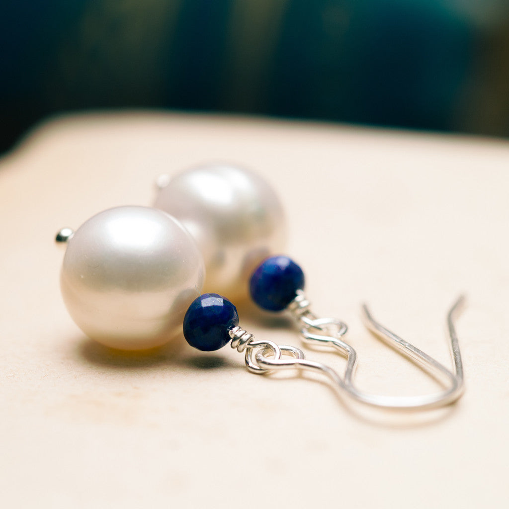 Earrings - Goddess Pearl Earrings