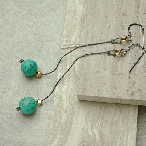 Earrings - Mint Earrings
