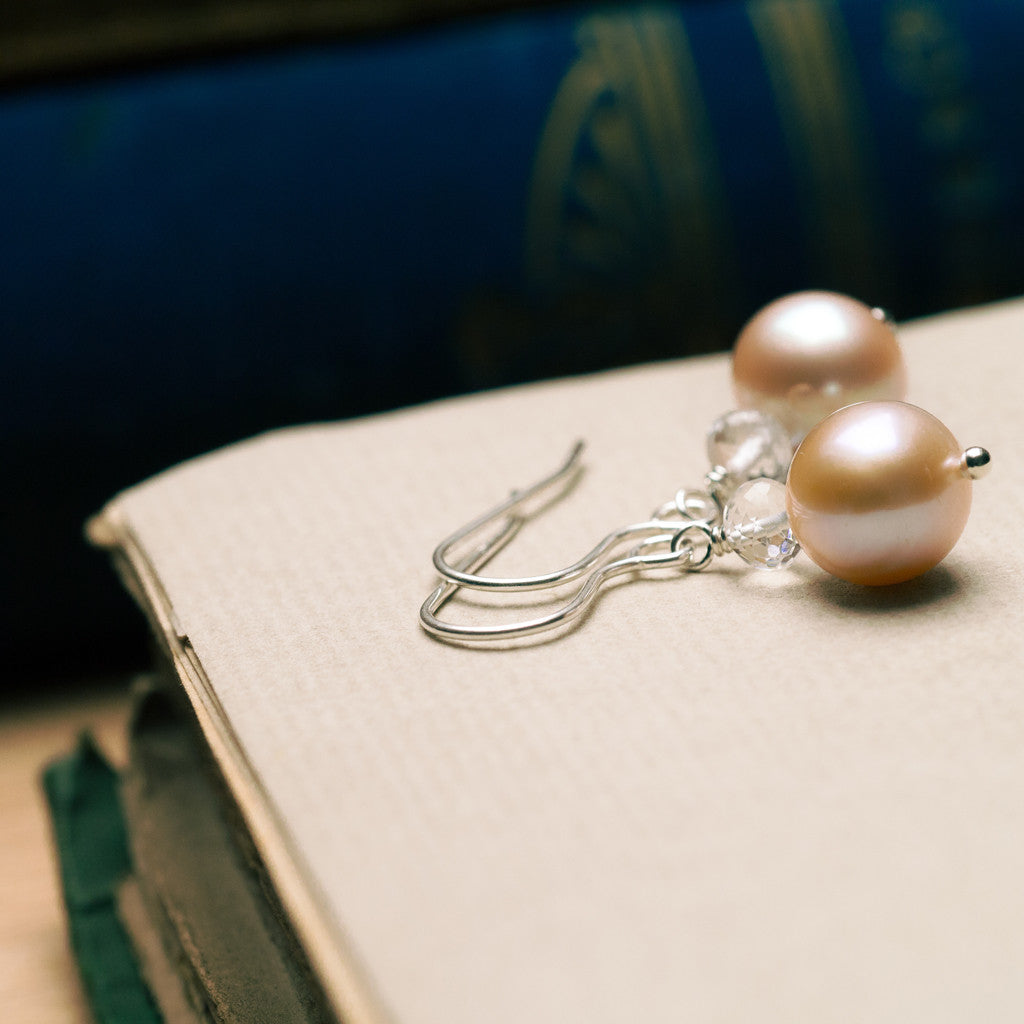 Earrings - Muse Pearl Earrings