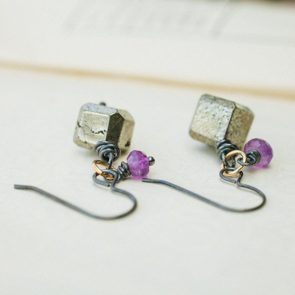 Earrings - Passion Cubed Earrings