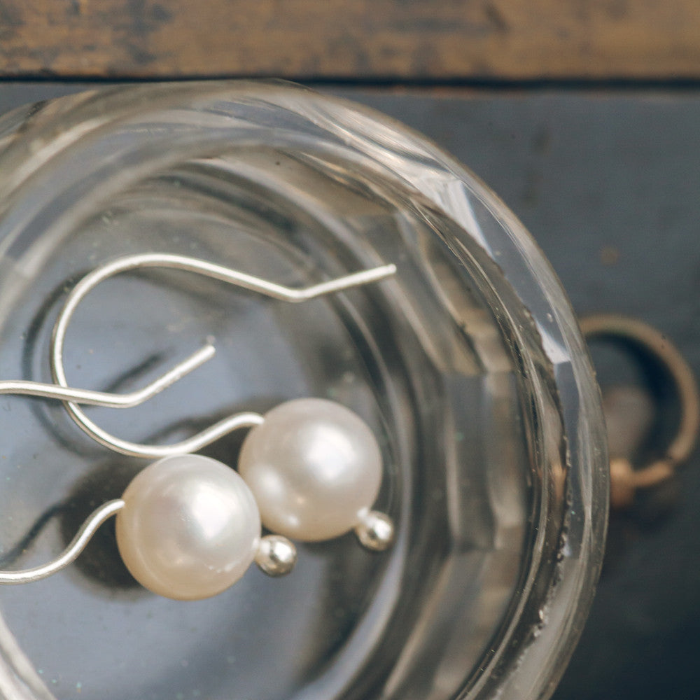Earrings - Pearl Drop Earrings