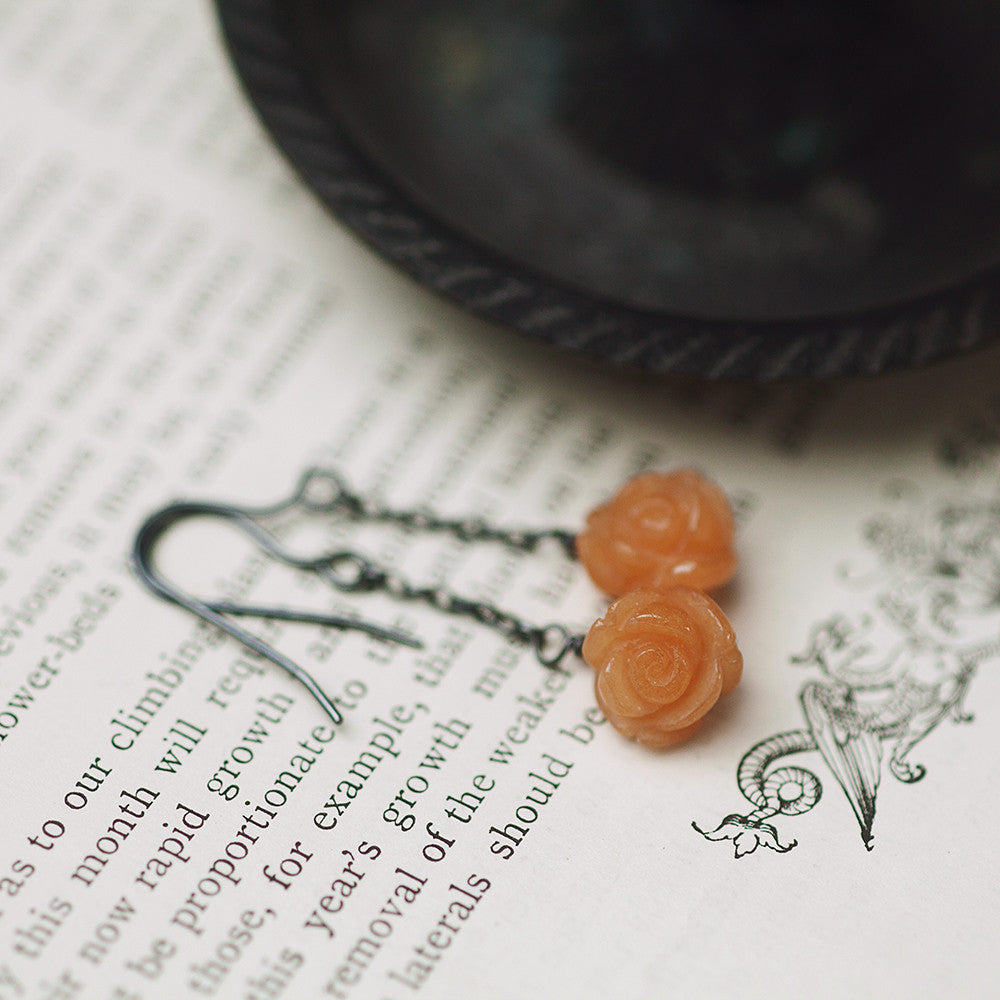 Earrings - Rose Attar Earrings