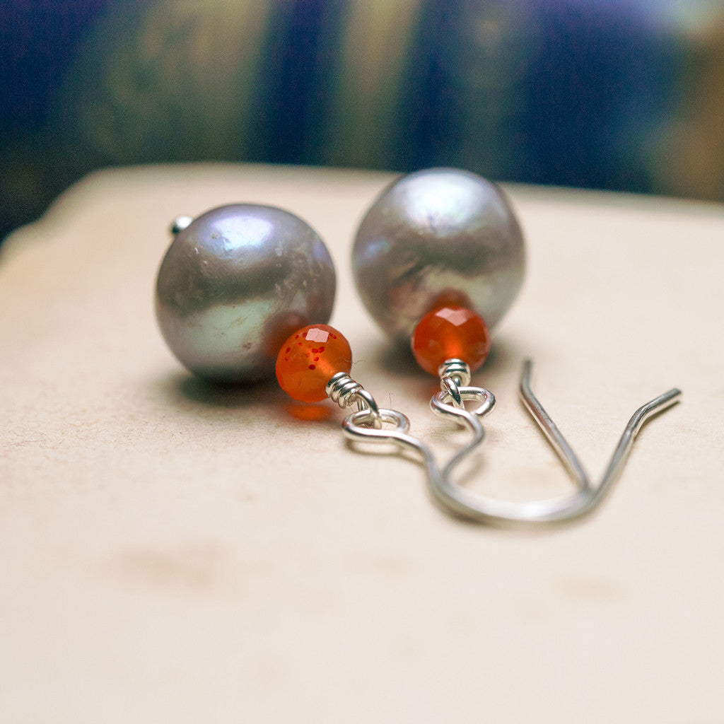 Earrings - Siren Pearl Earrings