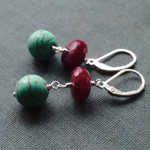 Earrings - Wintergreen Earrings