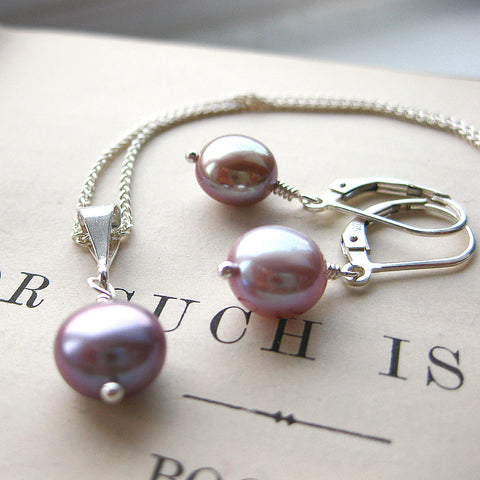 Gift Sets - Simplicity Pearl Gift Set