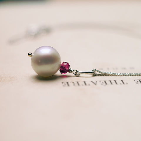 Necklaces - Goddess Pearl Necklace