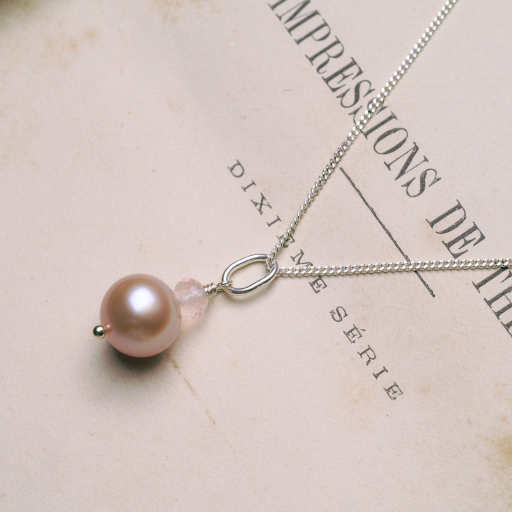 Necklaces - Muse Pearl Necklace