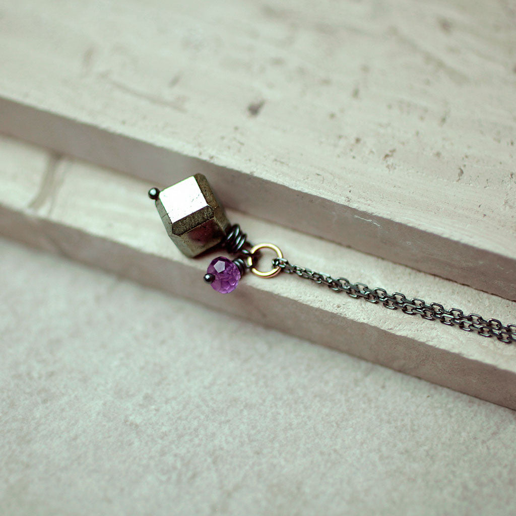 Necklaces - Passion Cubed Necklace