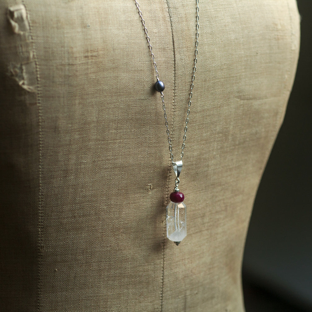 Necklaces - Pendulum Long Necklace