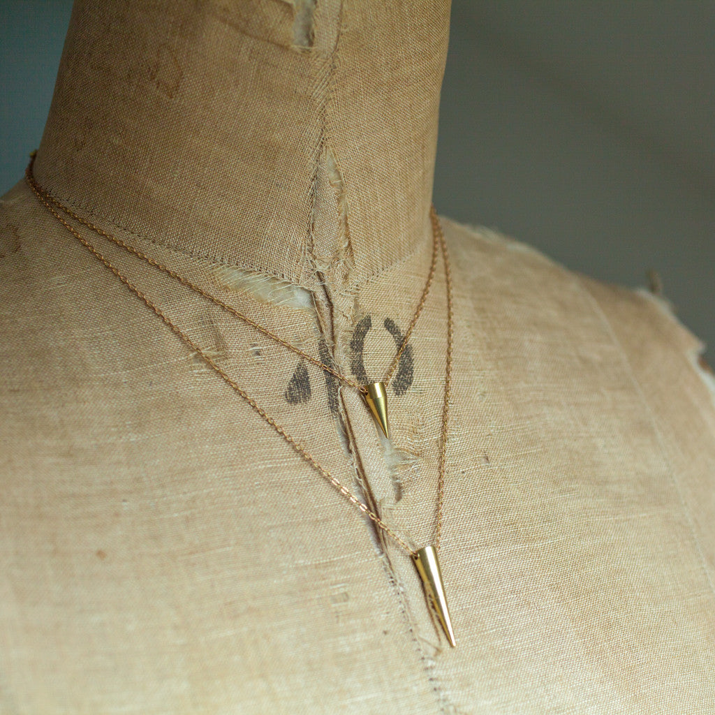 Necklaces - Spika Layered Necklaces