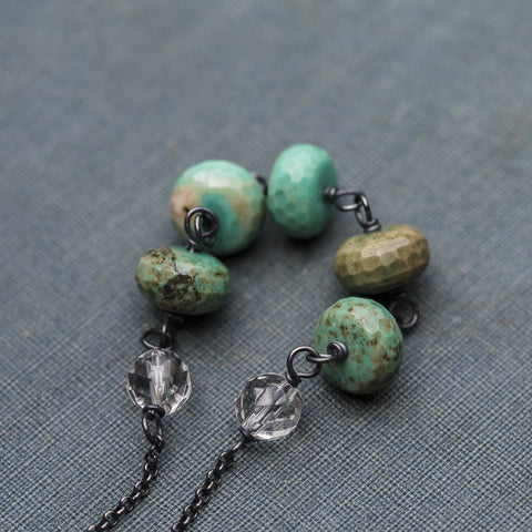 Necklaces - Verdigris Necklace