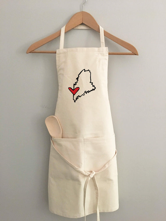 Love Maine Apron by Things Uncommon