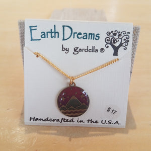 Mountains Majesty 18in necklace by Earth Dreams Jewelry