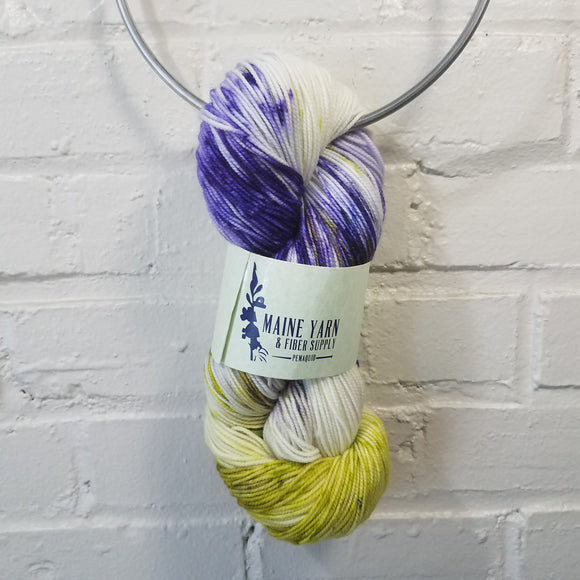 Pemaquid: First Iris - Maine Yarn & Fiber Supply