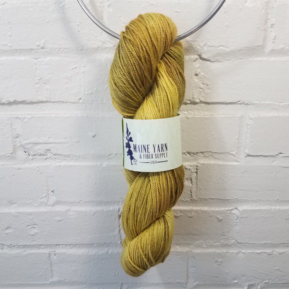maine-yarn-fiber-supply - Casco: Warm Ochre - Yarn