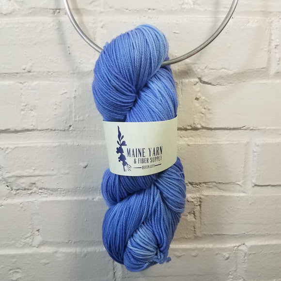 Queen City: Delphinium - Maine Yarn & Fiber Supply