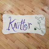 Knitter Meditation Mat - Maine Yarn & Fiber Supply
