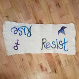 Rise / Resist Meditation Mat - Maine Yarn & Fiber Supply