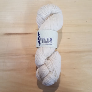 Harbor: Washed White - Maine Yarn & Fiber Supply
