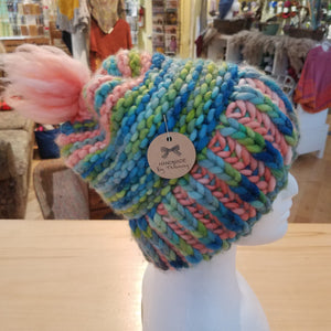 Moxie Troll - One of a Kind Hand Knit Hats by Maine Yarn & Fiber Supply