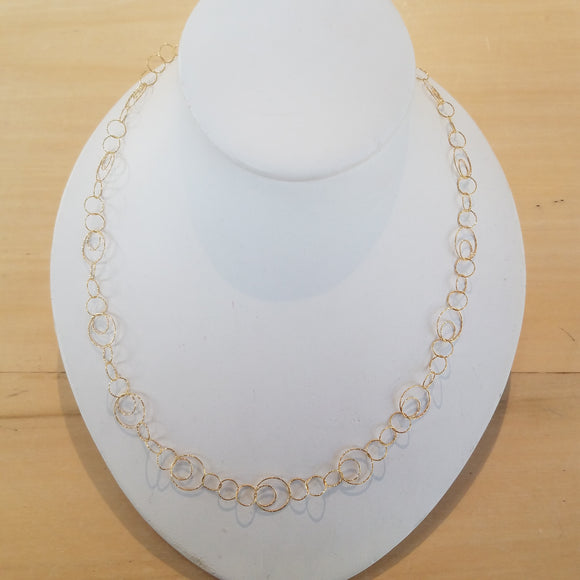 Gold Vermeil necklace by Sonoma Art Works