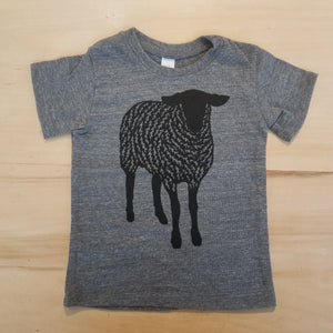 Sheep Baby Tee by Madder Root