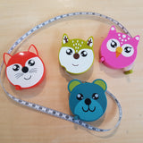 Woodland Critter Measuring Tapes - Notions