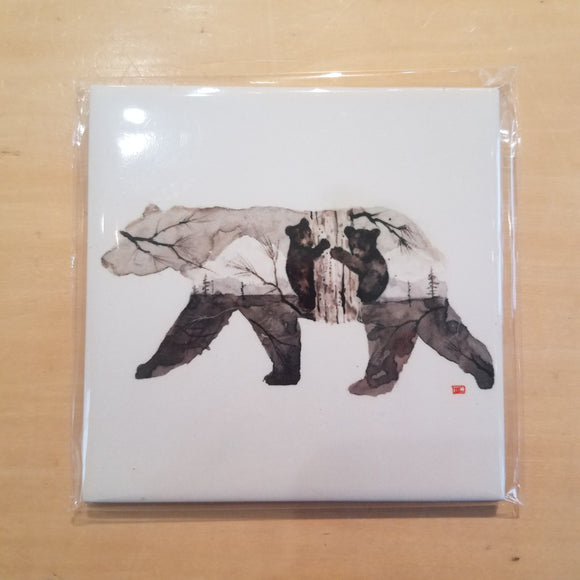 Bear Coaster by Dean Crouser