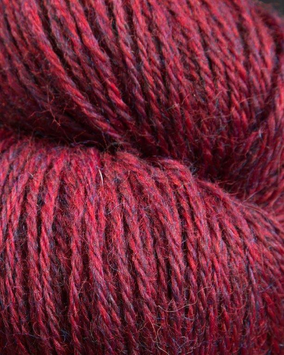 The Heather Line from JaggerSpun: Chokeberry