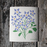 Columbine - Swedish Dish Cloths by Three Blue Birds