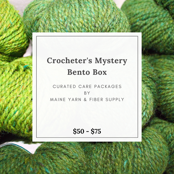 Crocheter's Mystery Bento Box - Maine Yarn & Fiber Supply