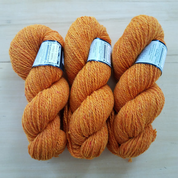 Peace Fleece Worsted: Evening Marigold - Maine Yarn & Fiber Supply