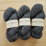 Peace Fleece Worsted: Father's Grey - Maine Yarn & Fiber Supply