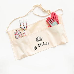 Go Outside Garden Apron by Nature Supply Co
