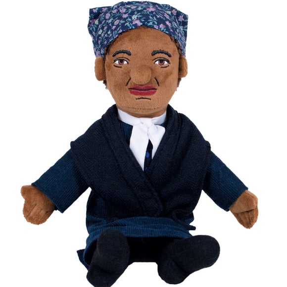 Harriet Tubman - Little Thinker Soft Doll from The Unemployed Philosophers Guild