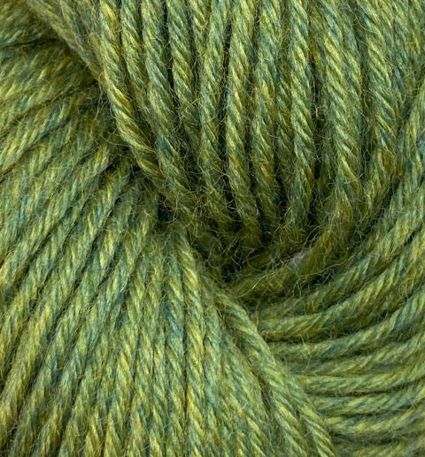 Heather Line from JaggerSpun: Leaf