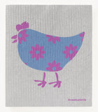 Hilda Chicken - Swedish Dish Cloths by Three Blue Birds