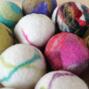 Wool Dryer Balls - Maine Yarn & Fiber Supply