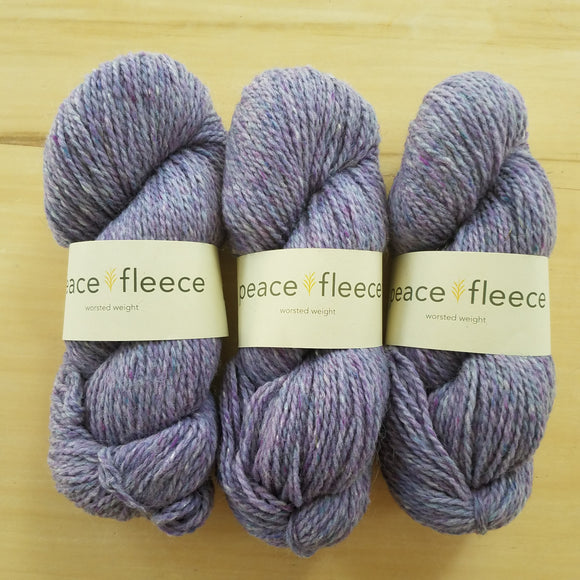 Peace Fleece Worsted: Latvian Lavender - Maine Yarn & Fiber Supply