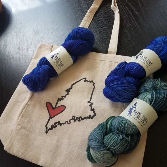 Tote Bags by Things Uncommon - Maine Yarn & Fiber Supply
