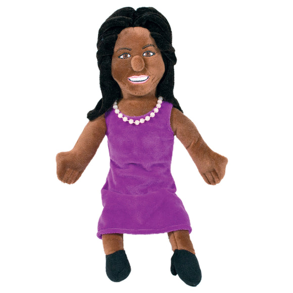 Michelle Obama - Little Thinker Soft Doll from The Unemployed Philosophers Guild