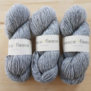Peace Fleece Worsted: Negotiation Grey