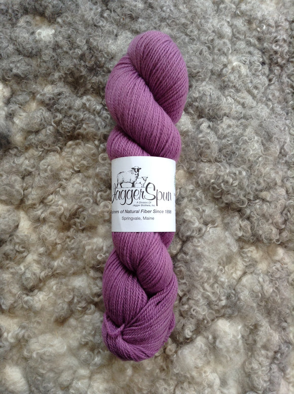 The Green Line From JaggerSpun: Orchid - Maine Yarn & Fiber Supply